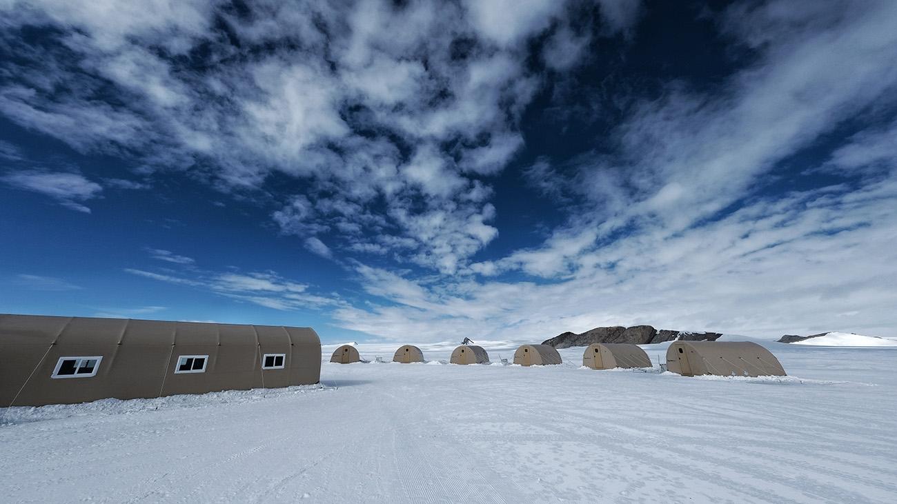 White Desert unveils new Antarctic camp