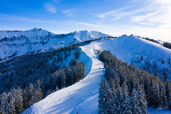 Skiing in style in the magical, picture-postcard French ski resort Megève