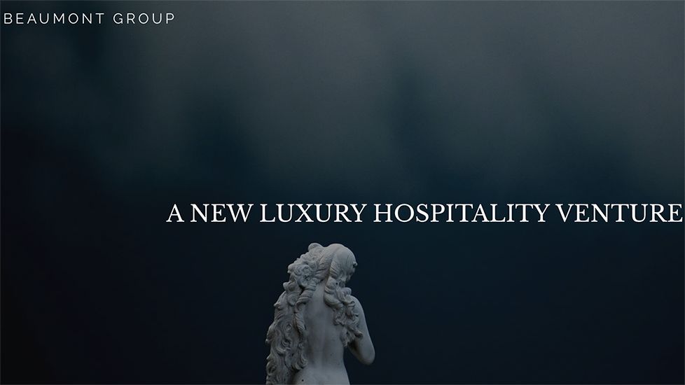 Beaumont Group to launch luxury travel brand