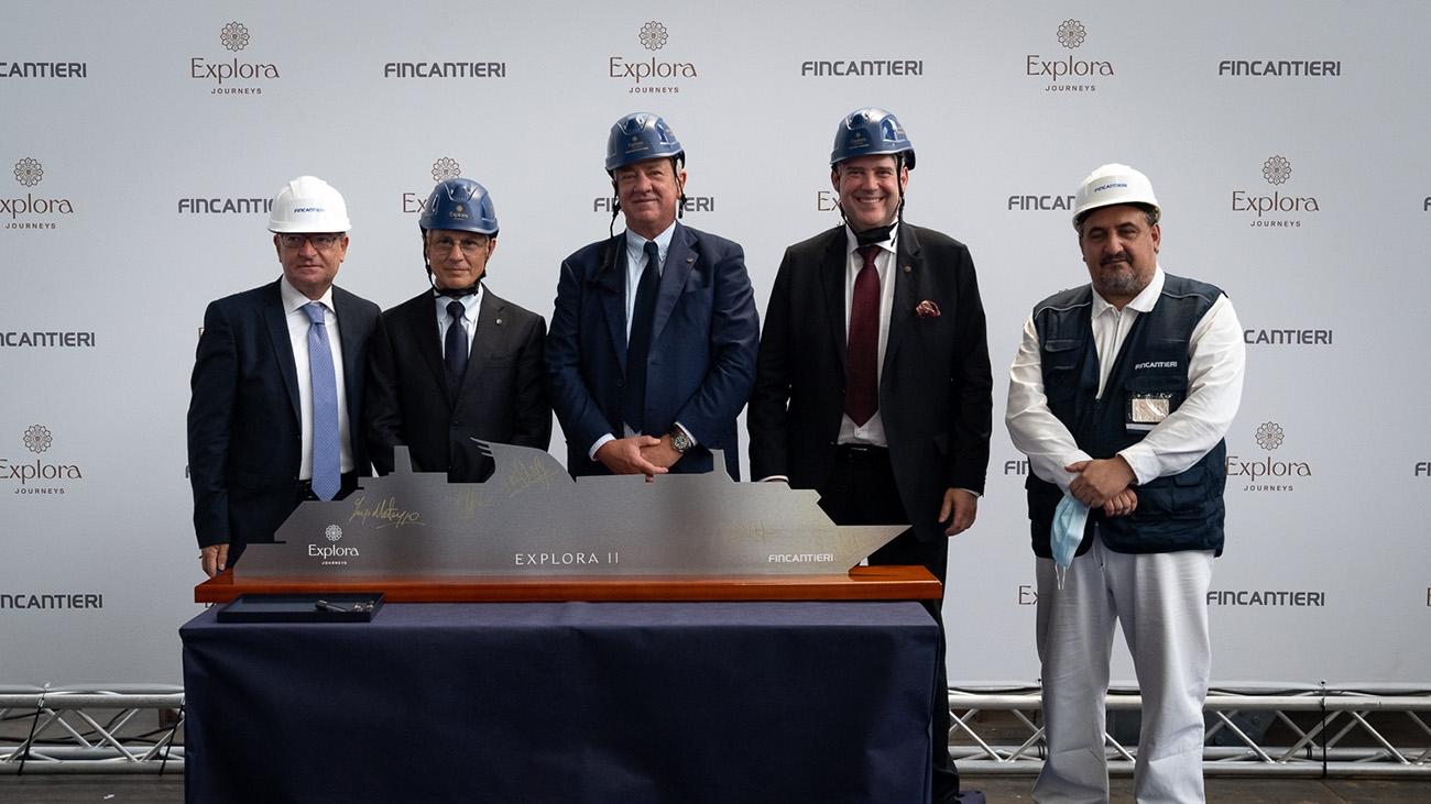 Construction begins on Explora Journeys' second ship