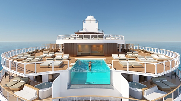 New NCL ship to feature line's largest suite complex