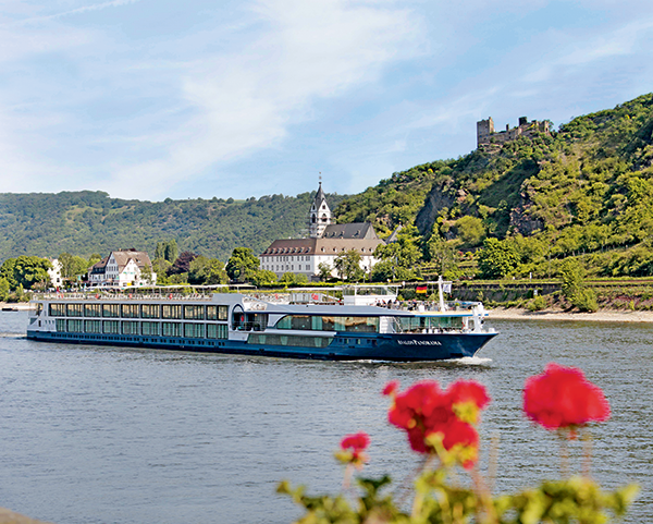 Rhine cruise: Go with the flow