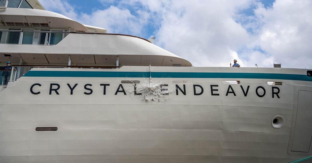 Crystal Endeavor begins maiden expedition voyage