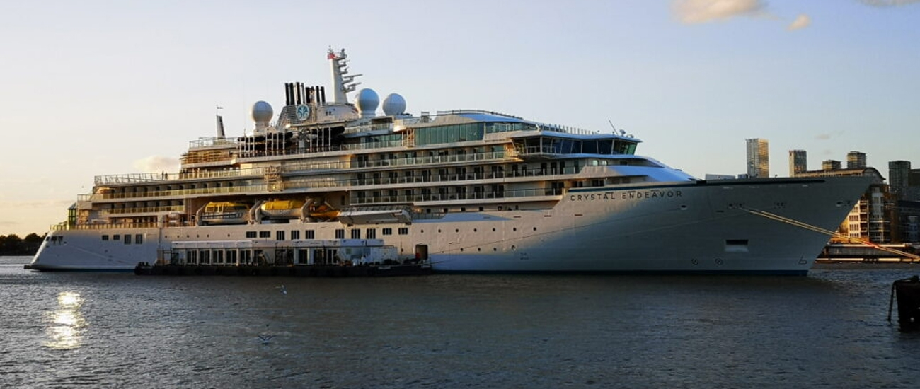 Crystal offers free charter flights from US to Ushuaia for Antarctica sailings