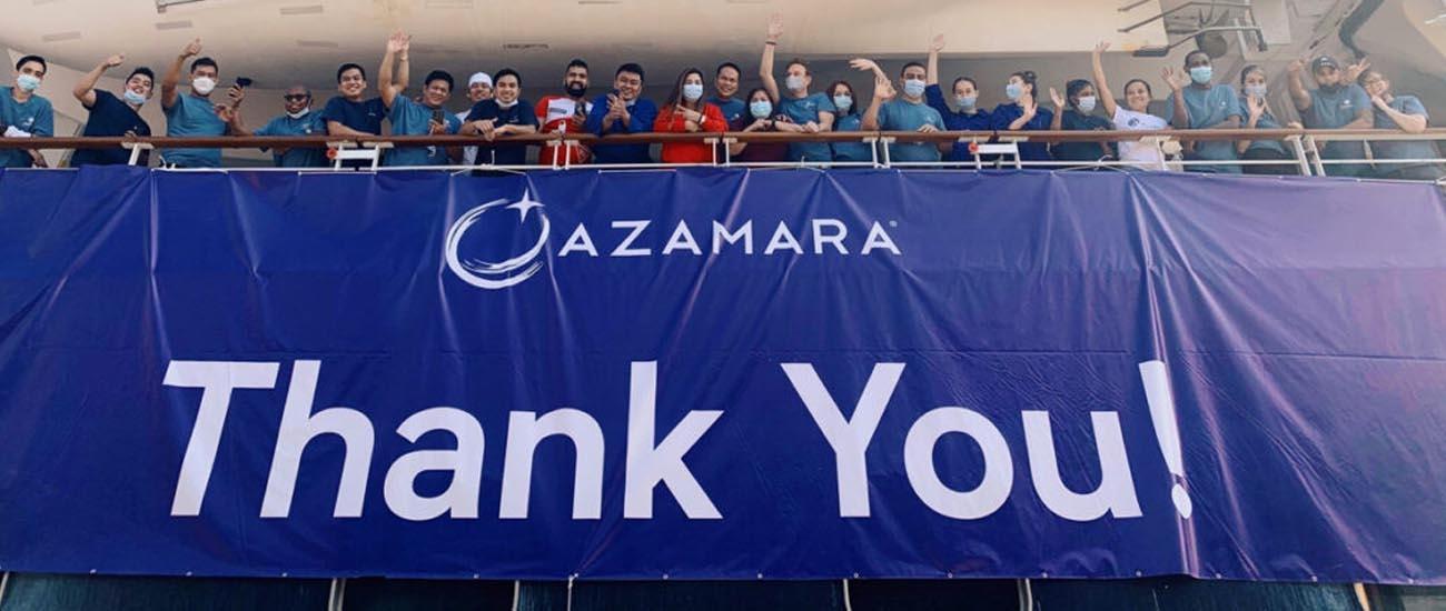 Azamara ship leaves Glasgow ahead of August sailing restart